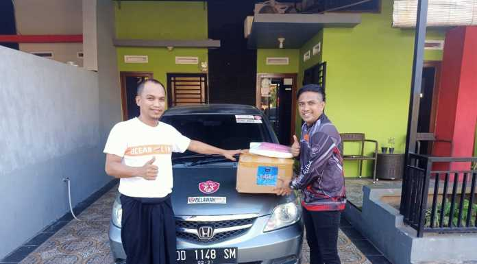 Indonesia Max Owners Regional Celebes Serahkan APD ke Relawan YGBI