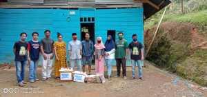 Pemuda Kampoeng Bola Bola Kembali Menyalurkan Bantuan  yang Terdampak Bencana Alam