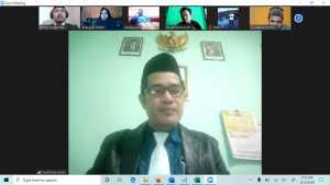 Pascasarjana UIN Alauddin Menyertai Webinar Silaturahmi dan Seminar Keagamaan IAIN Sorong