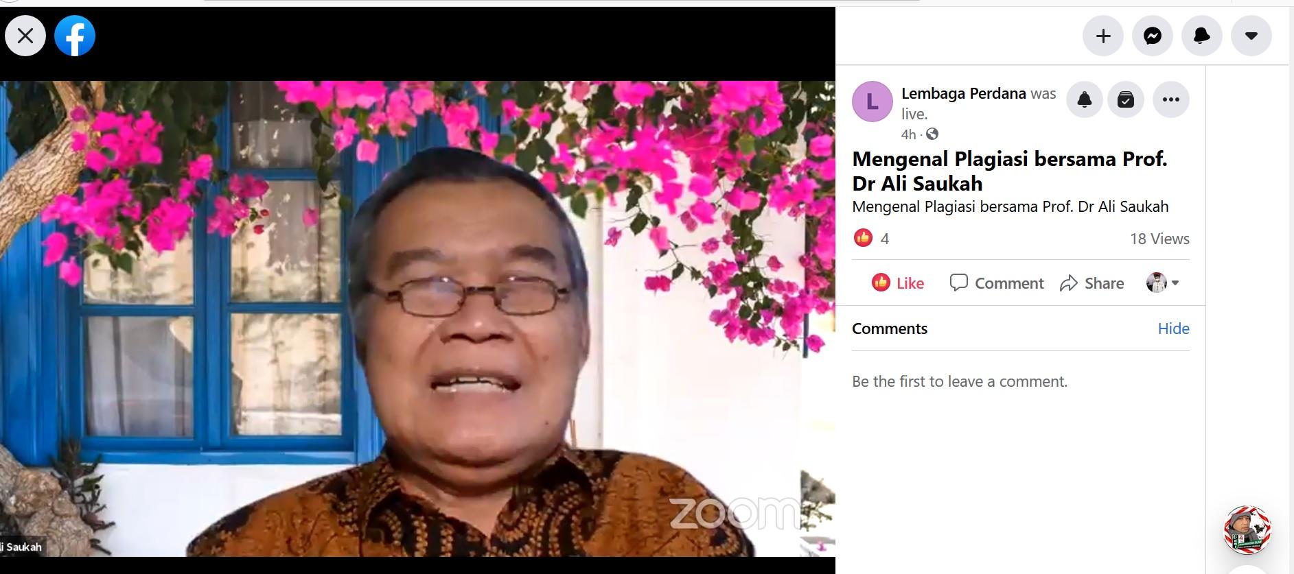 Jurnal Laa Maisyir dan HMJ Ekonomi Islam UIN Alauddin Laksanakan Kuliah Tamu