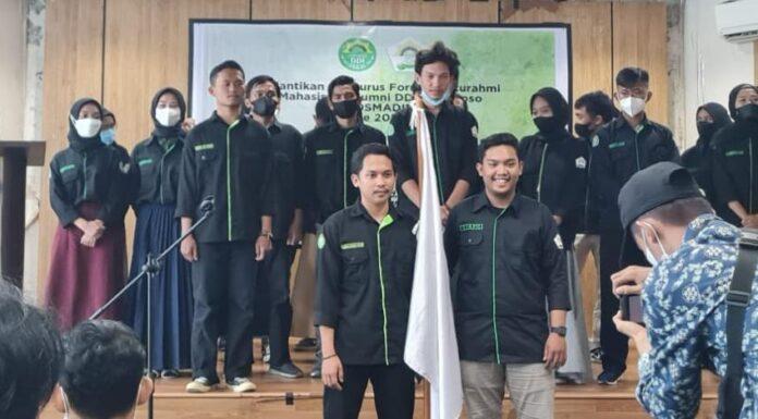 Pelantikan Ketua Dan pengurus Forum Silaturahmi Mahasiswa Alumni DDI Mangkoso