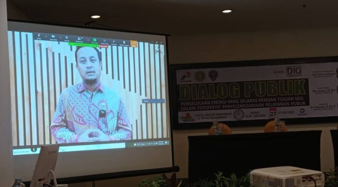 Plt Gubernur Sulawesi Selatan Membuka Dialog Publik STIE Amkop dengan Dukungan Dosen Insan Cita Indonesia (koleksi Dosen Insan Cita Indonesia)